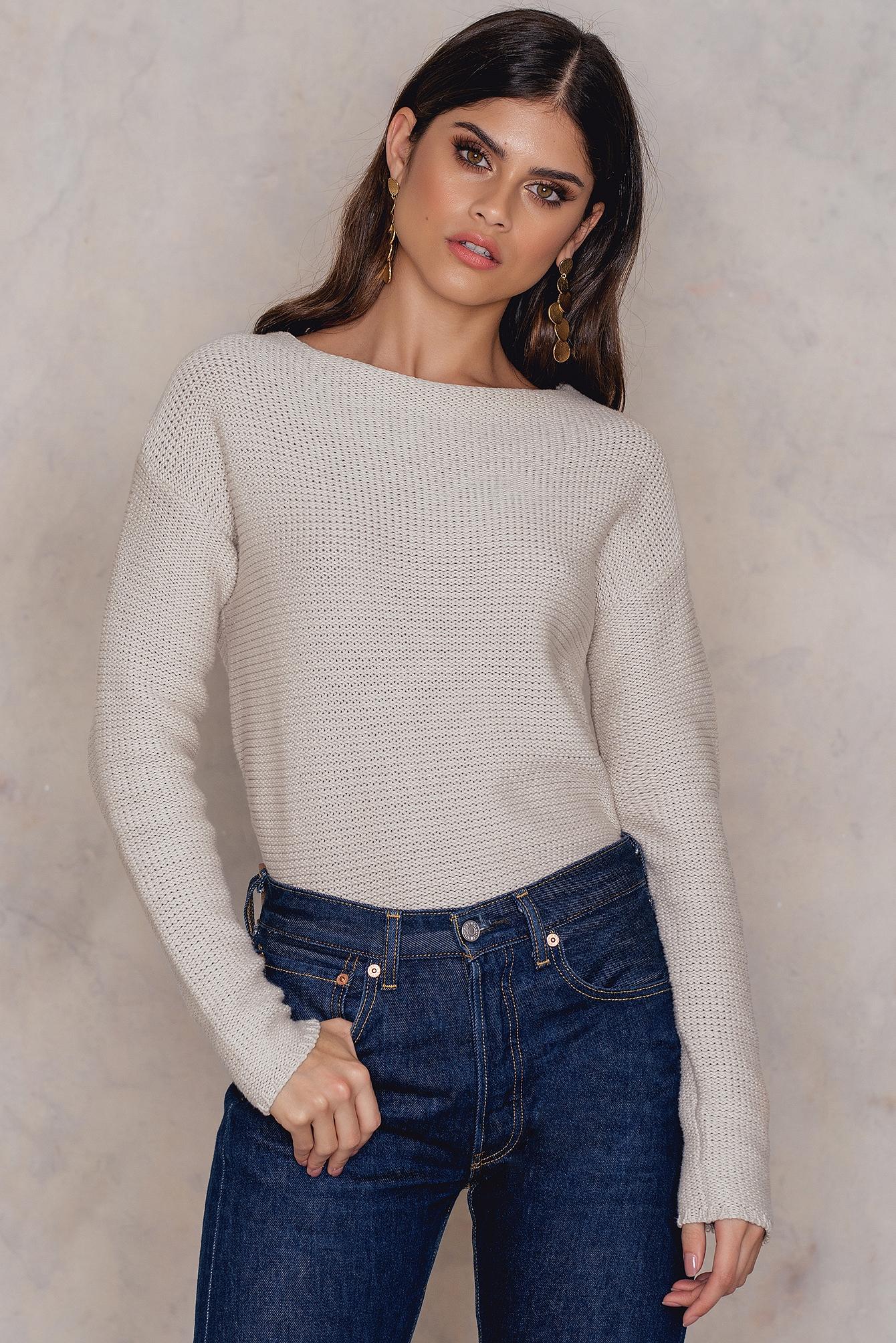 Rut & Circle Adelita knit Beige
