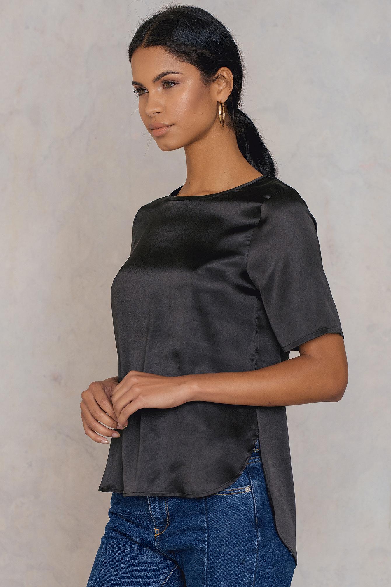 Rut & Circle Issie ss blouse Black