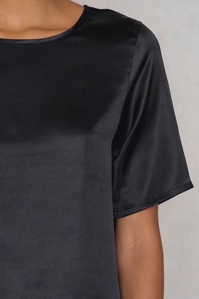 Issie ss blouse NA-KD.COM