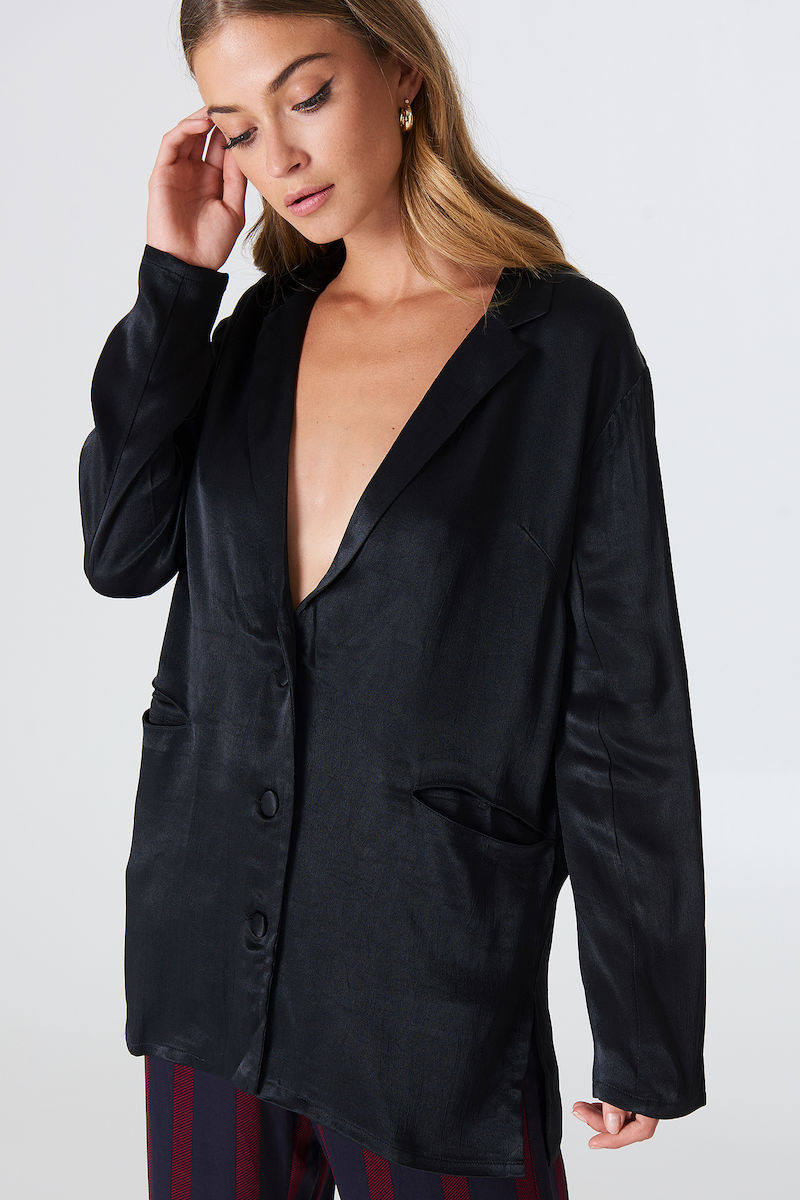 Rut & Circle Tilda Blazer Black