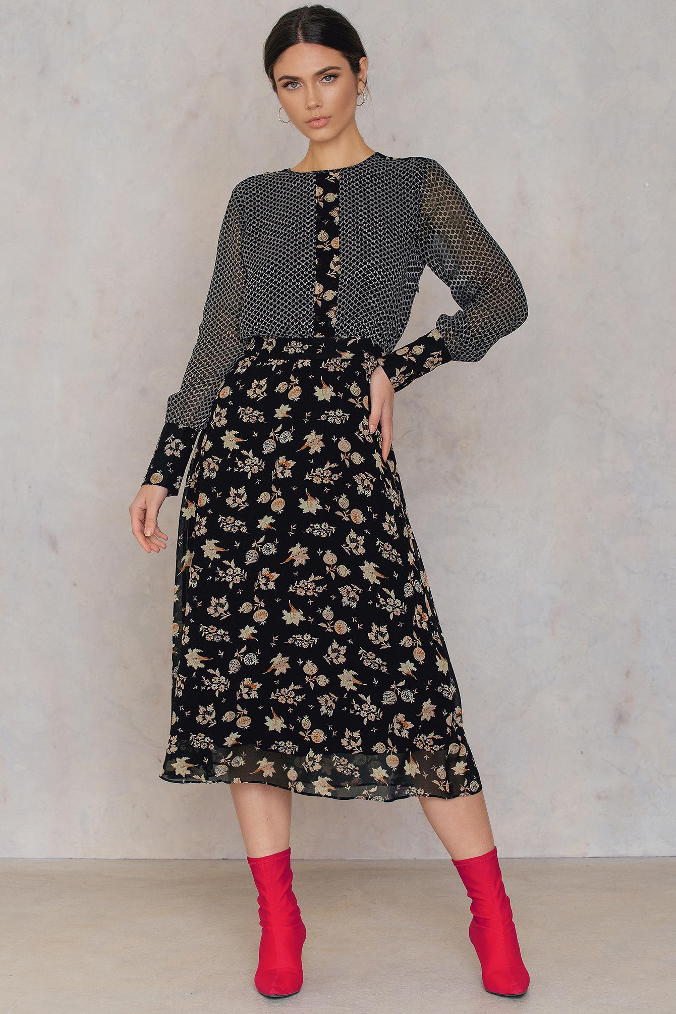 Second Female Izumi Dress Black