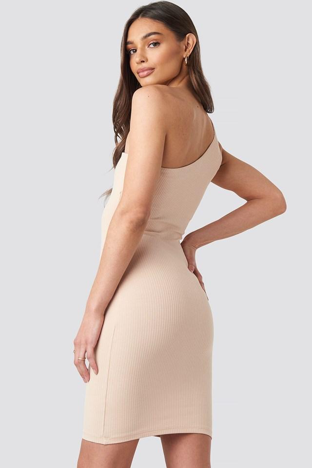 One Shoulder Mini dress NA-KD.COM