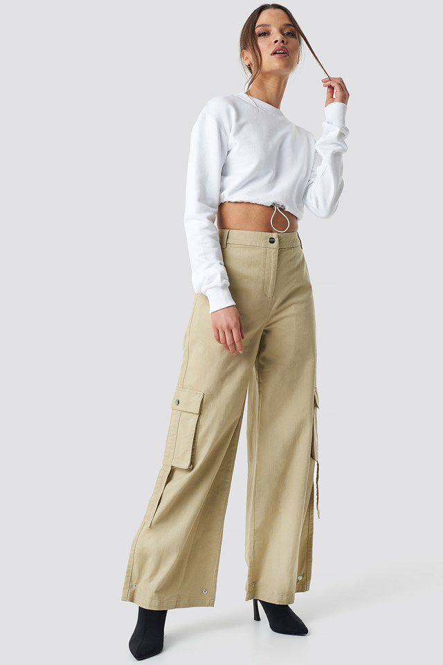 Cargo Pants Beige