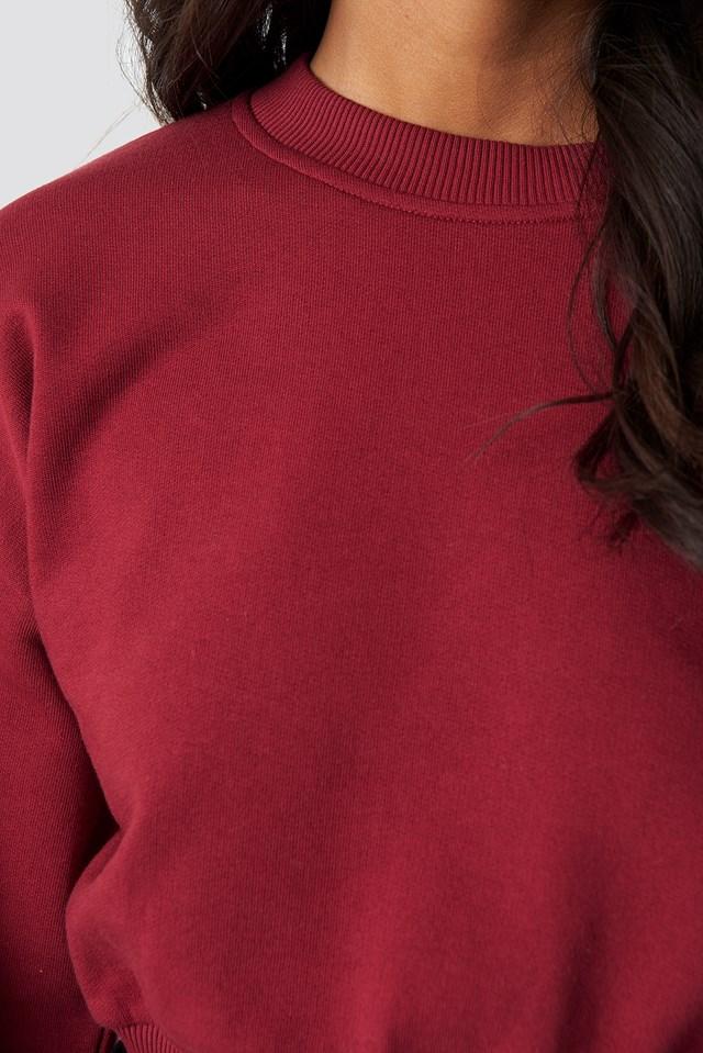 Cropped Wide Sleeve Sweatshirt NA-KD.COM