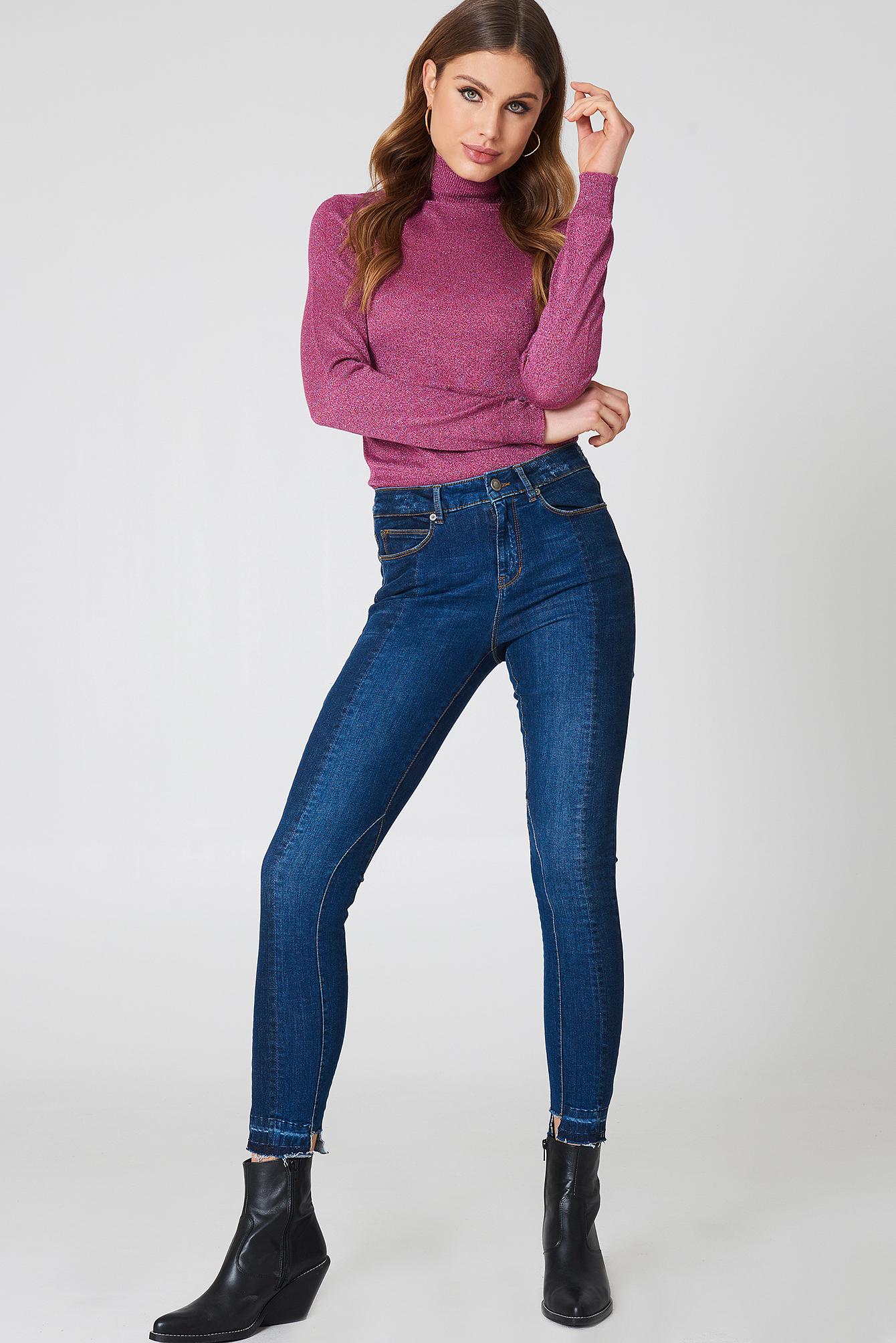 Alexa Ankle Jeans NA-KD.COM