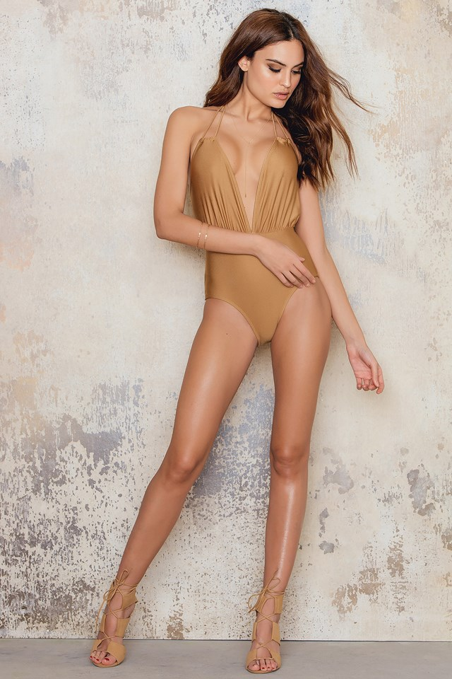 Jagger Swimsuit Gold