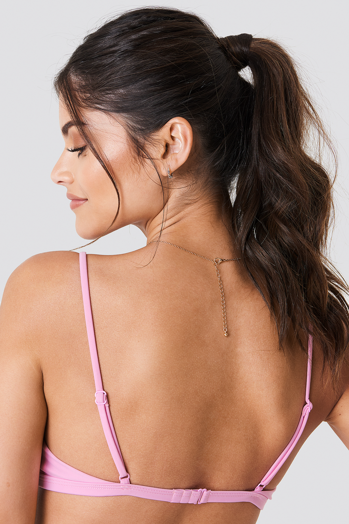 Circle Detail Bikini Top NA-KD.COM