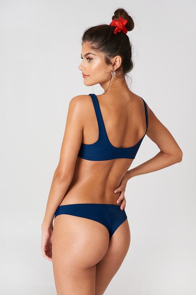 Knot Front Bikini Top NA-KD.COM