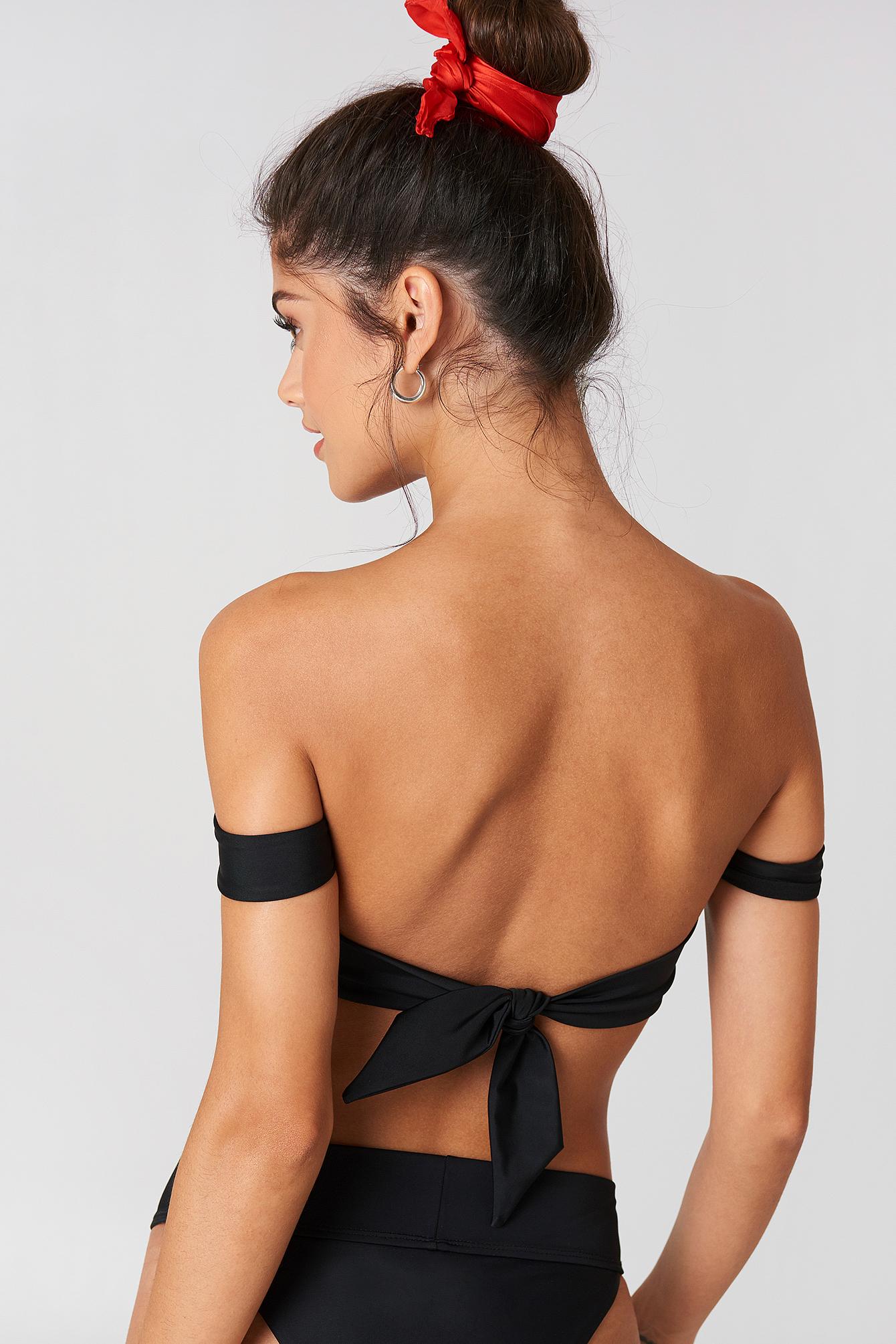 Folded Bandeau Bikini Top NA-KD.COM