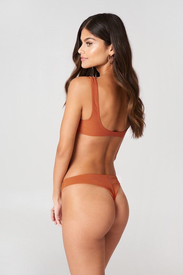 Knot Detail Bikini Top NA-KD.COM