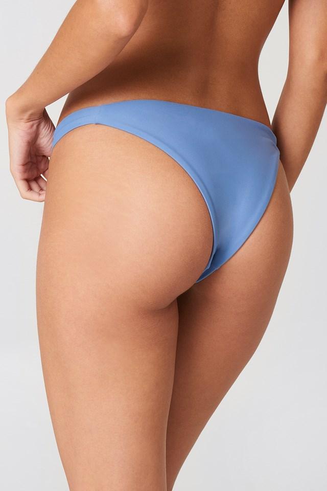 Thin Side Bikini Panty Soft Blue