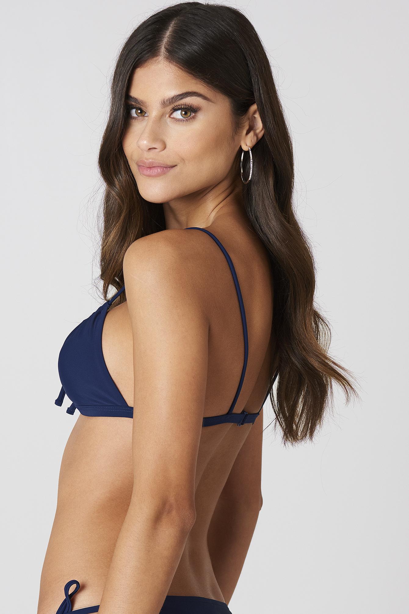 Tied Front Bikini Top NA-KD.COM