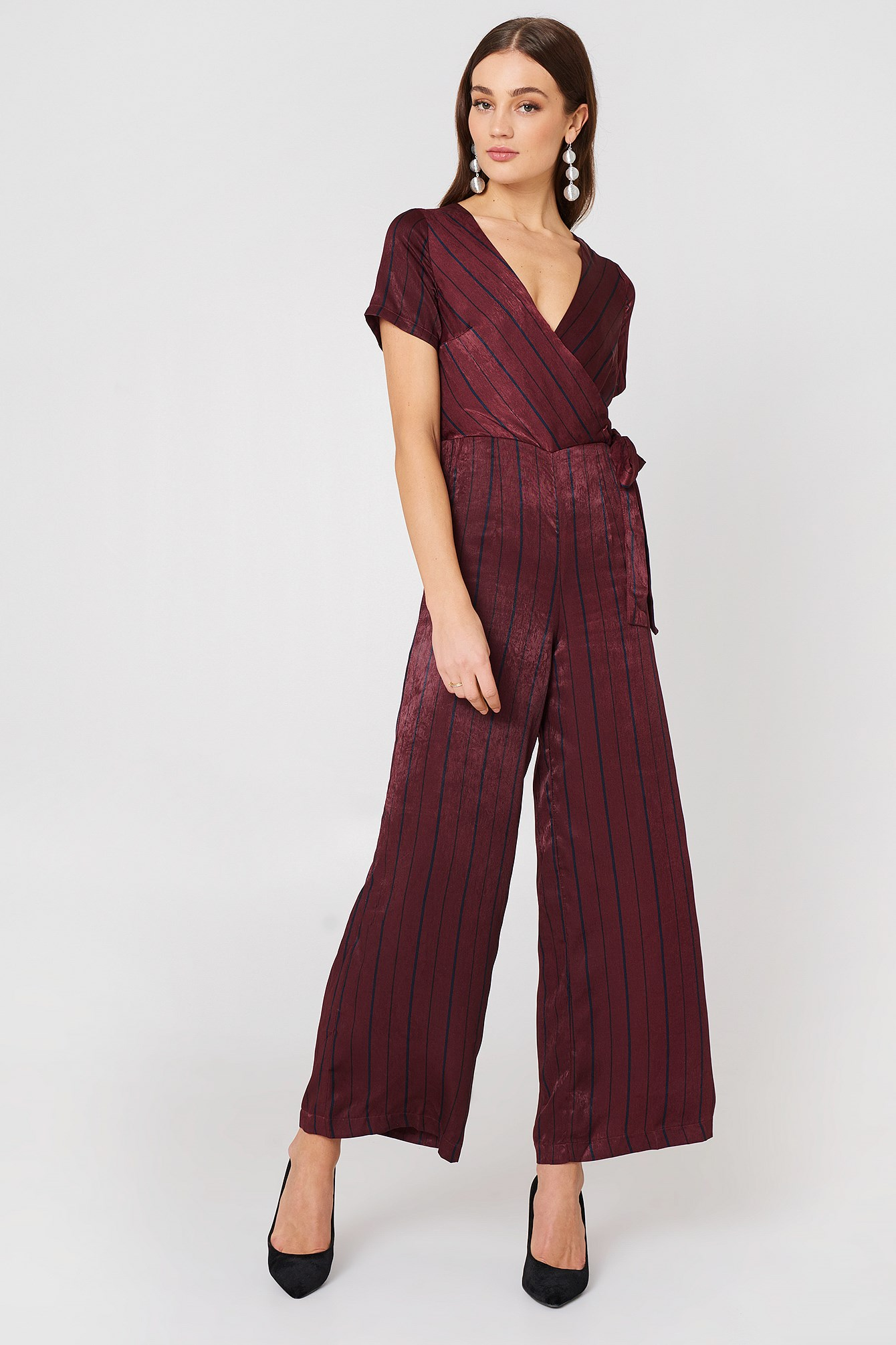 Short Sleeve Jumpsuit NA-KD.COM