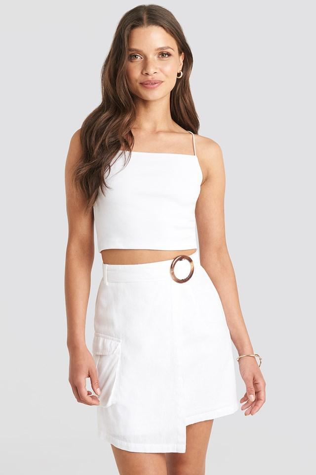 Overlapped Asymmetric Skirt Julia Wieniawa x NA-KD