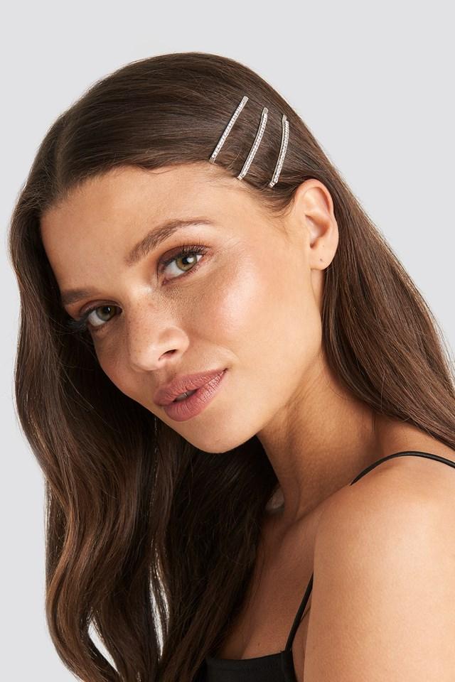Rhinestone Hair Clips Julia Wieniawa x NA-KD