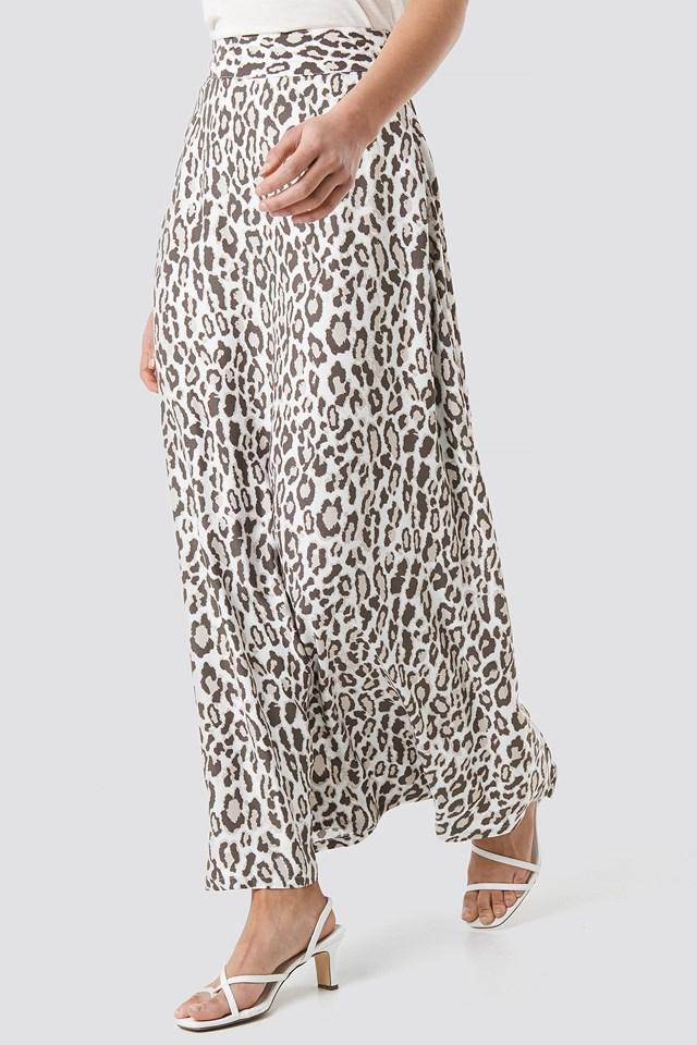 Leopard Maxi Skirt NA-KD.COM