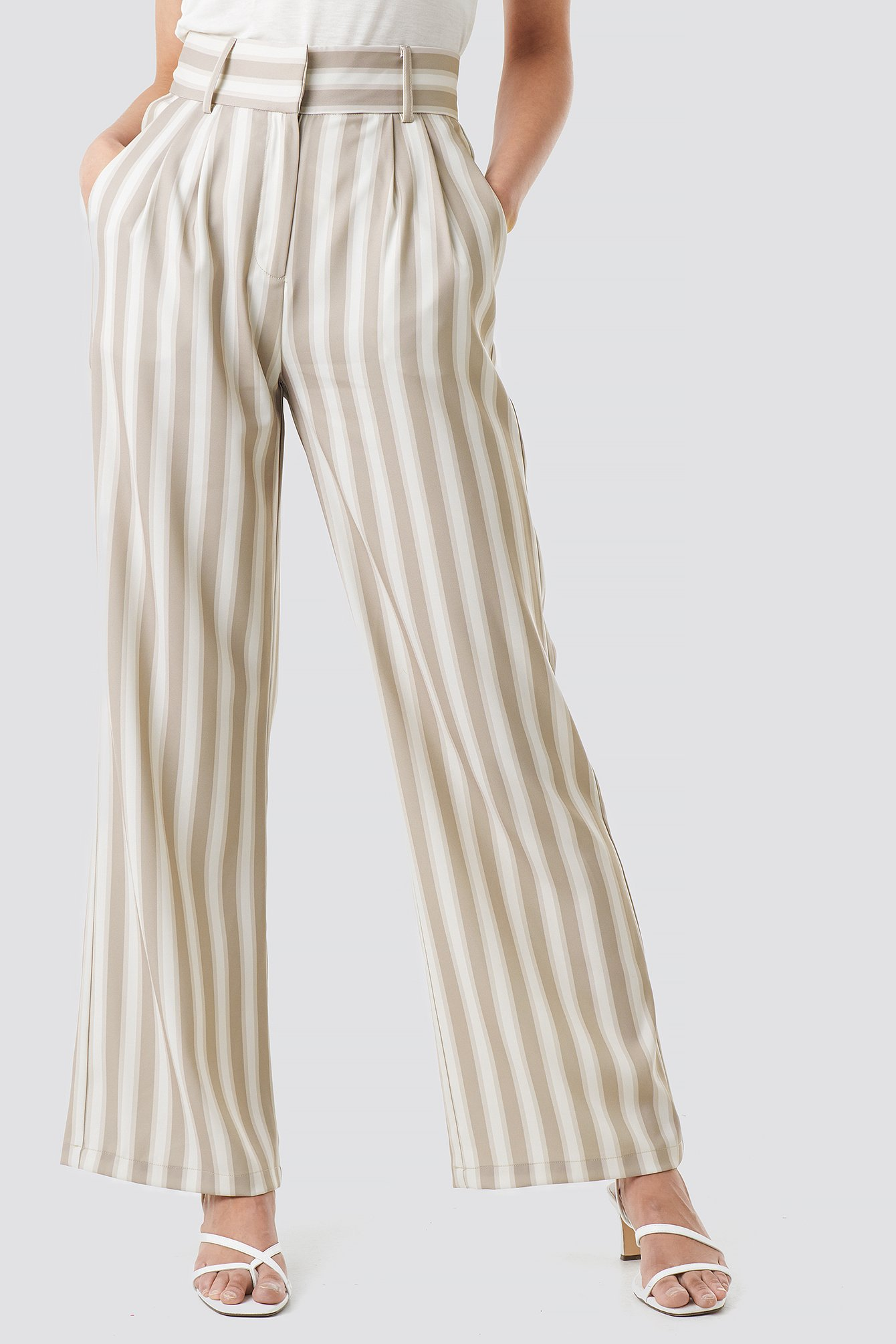 Tailored Striped Trousers NA-KD.COM