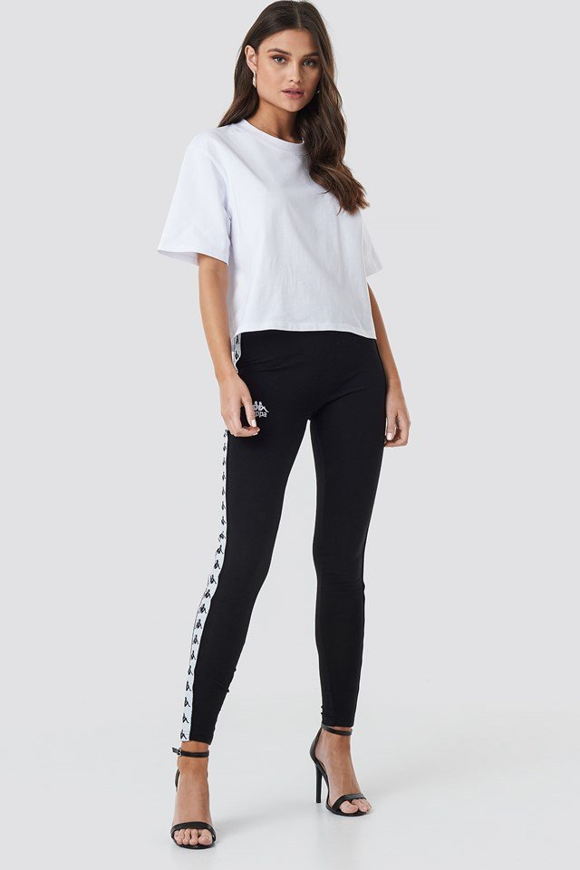 Anen Leggings Black/White