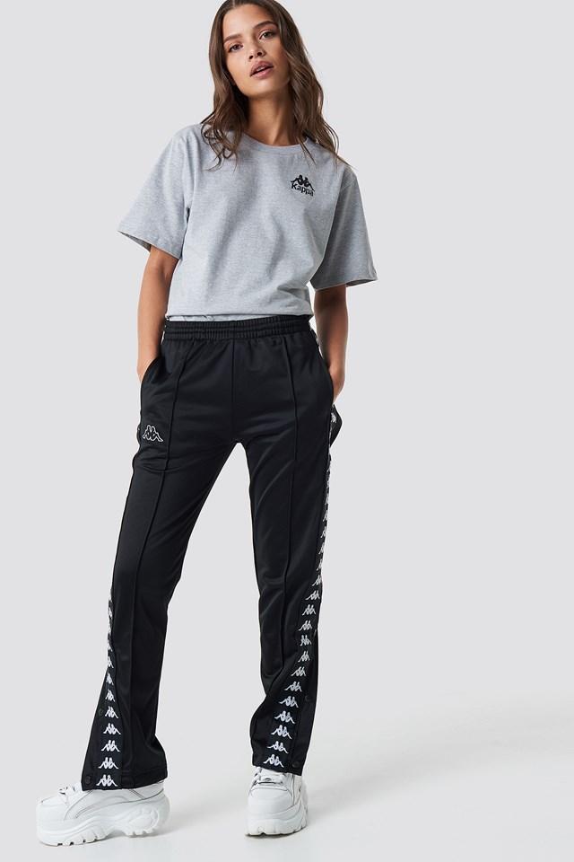 Astoria Slim Pants Black/White
