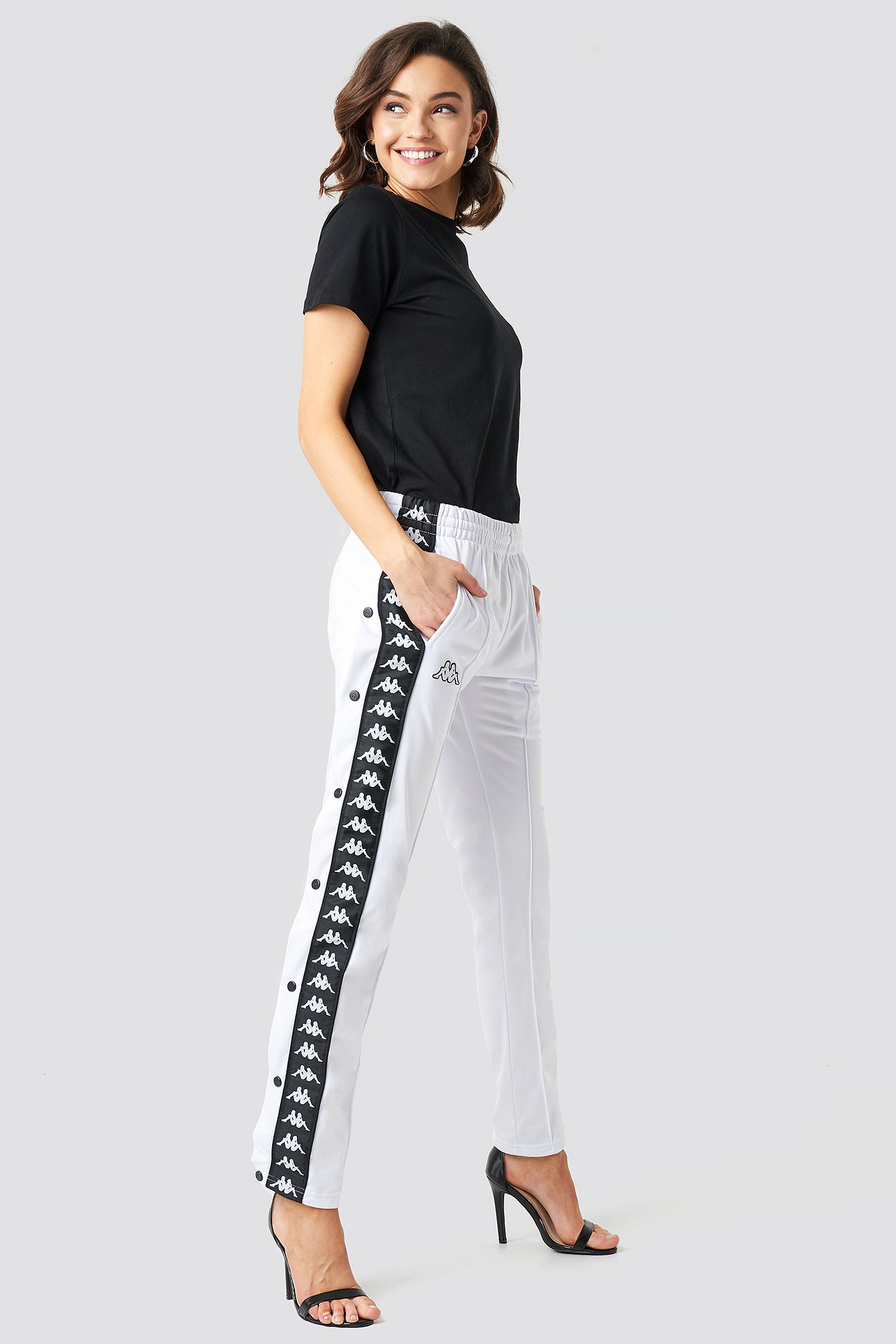 kappa -  Astoria Slim Pants - White