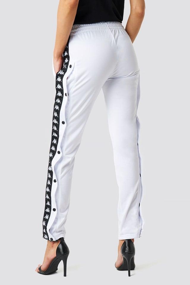 Astoria Slim Pants White/Black