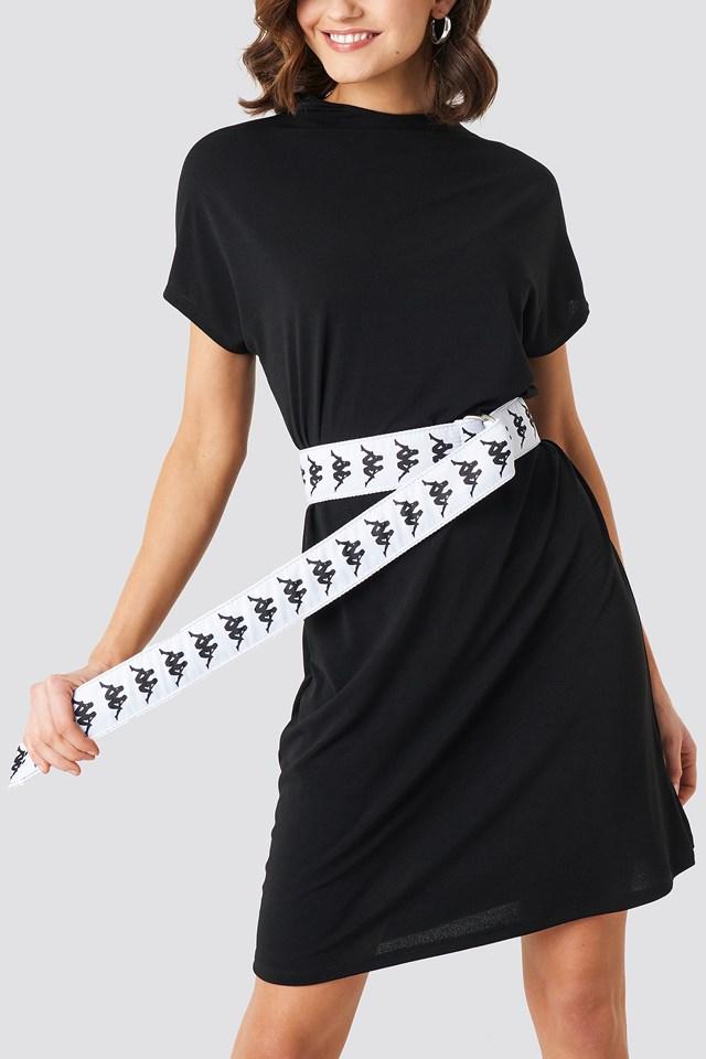 Banda Street Belt White/Black