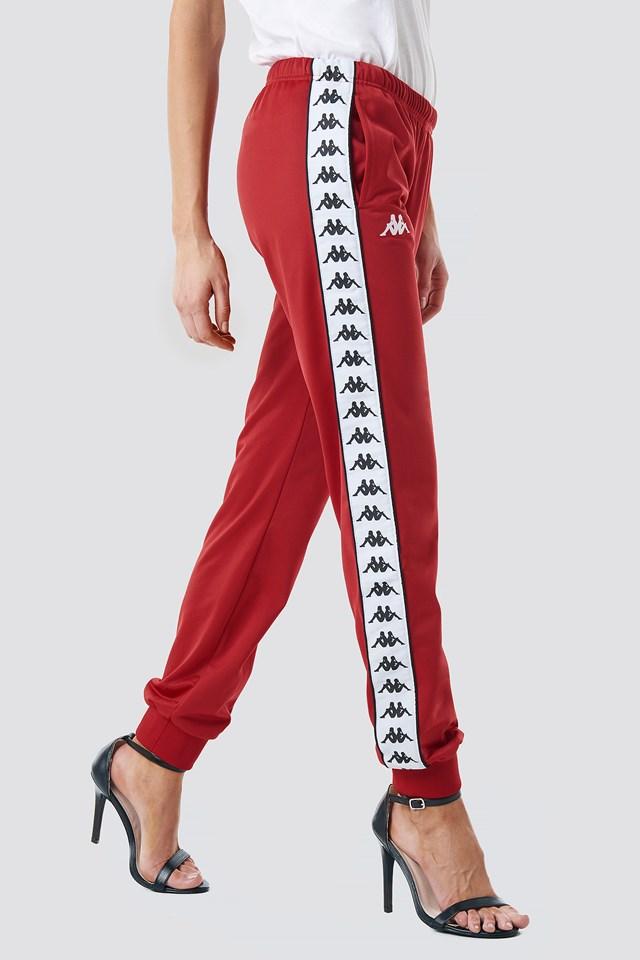 Wrastoria Banda Pants Red/Black/White