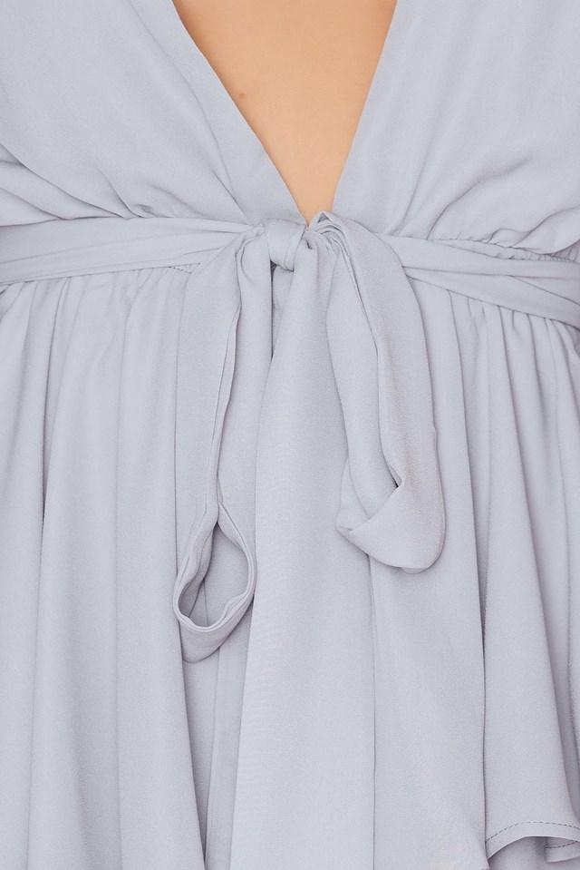 Amalfi Dress Grey