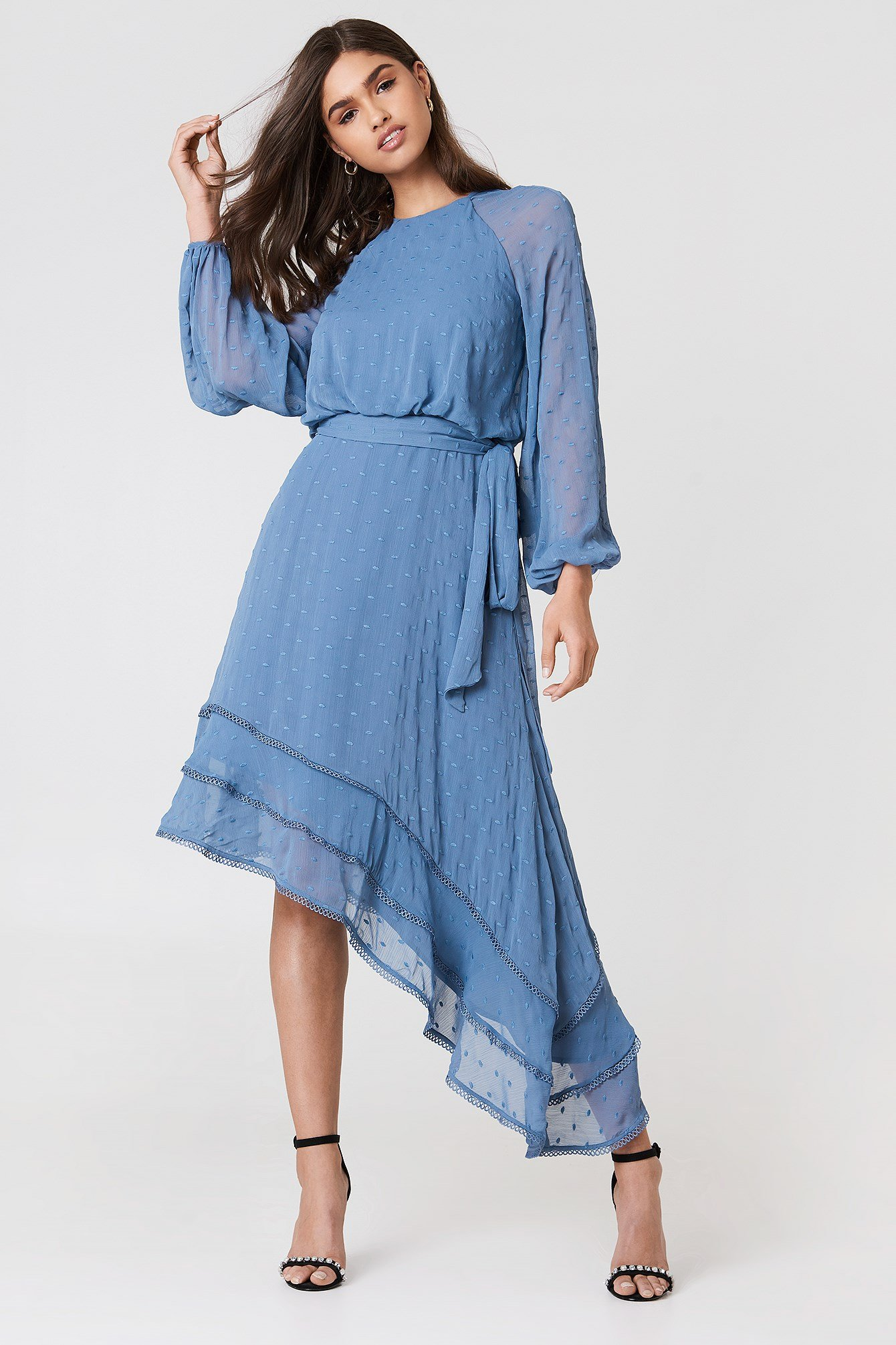 Hideaway LS Dress NA-KD.COM