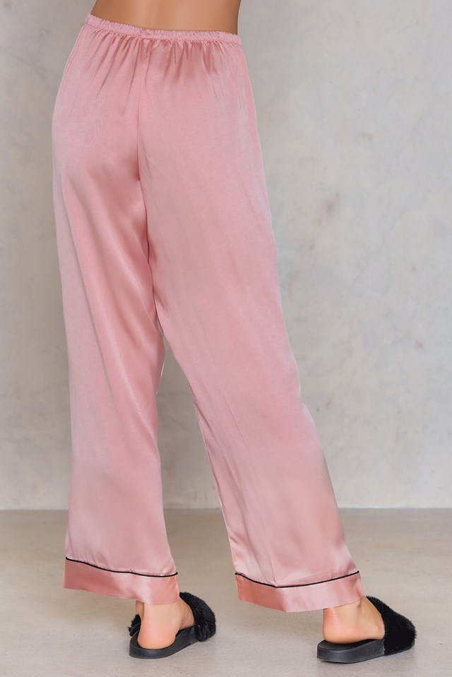 Kisskill Silk Pyjamas Blush