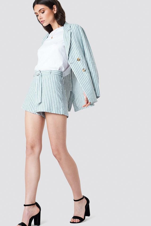 Linen Shorts NA-KD.COM