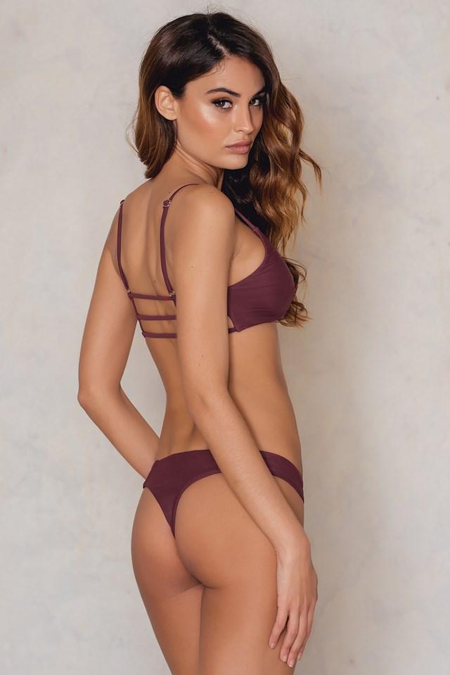 KS Bikini Panty Burgundy