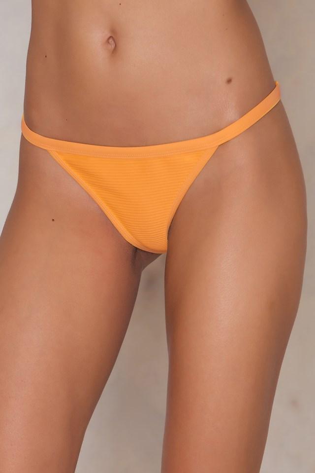 KS Structured Bikini Brief Lt Orange