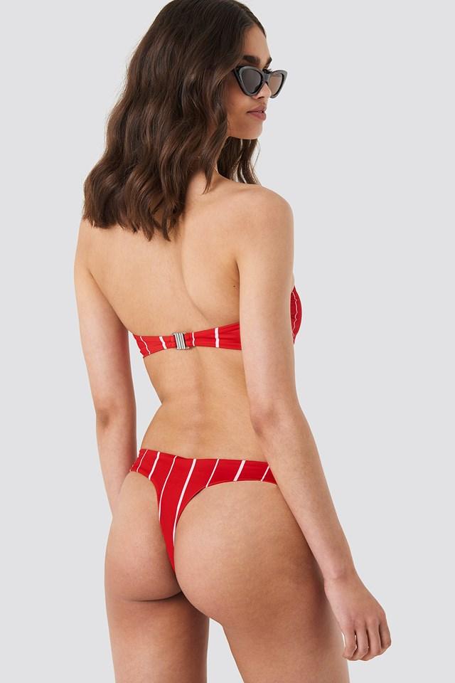 KS Bikini Thong Red Stripe