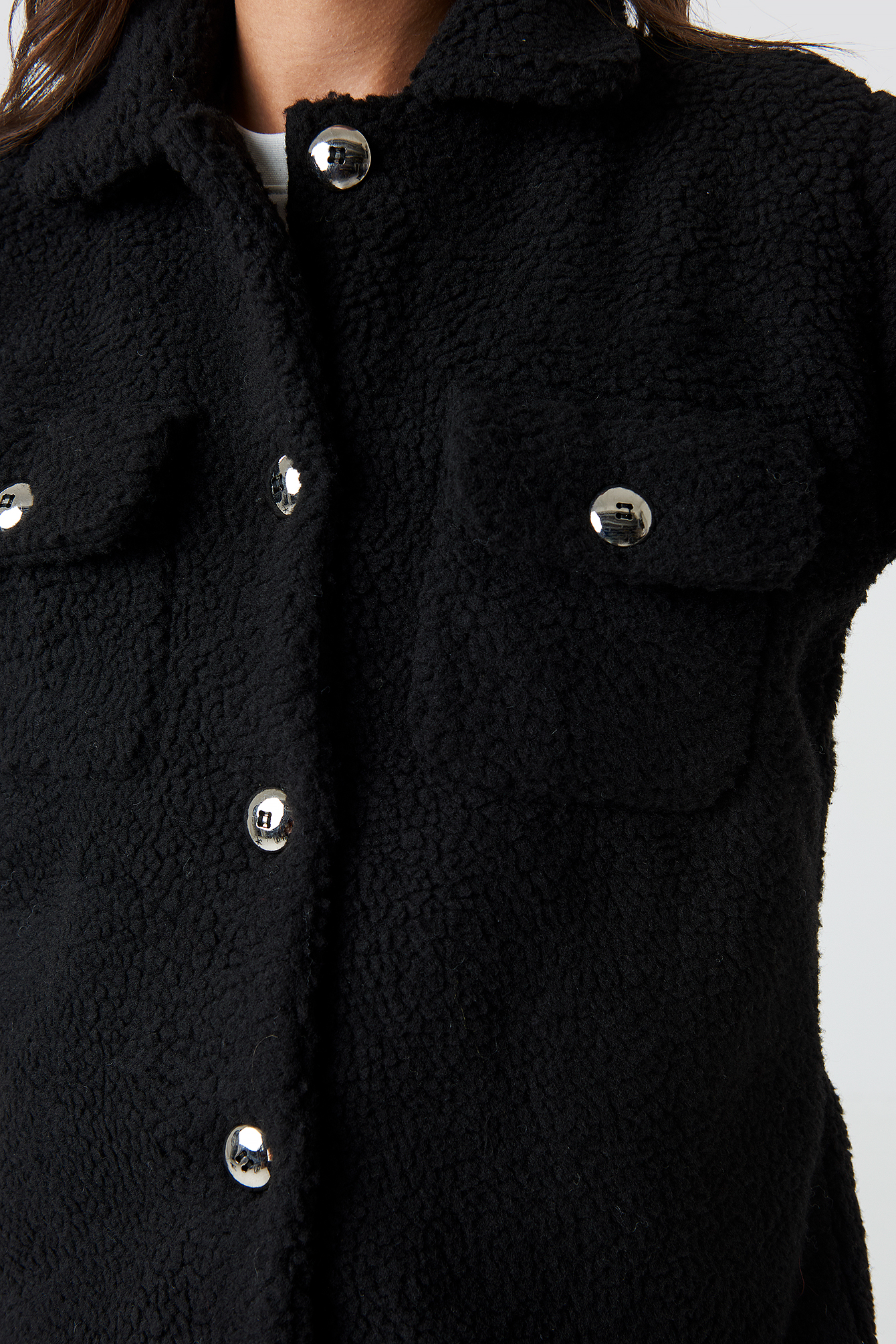 Teddy Short Jacket NA-KD.COM