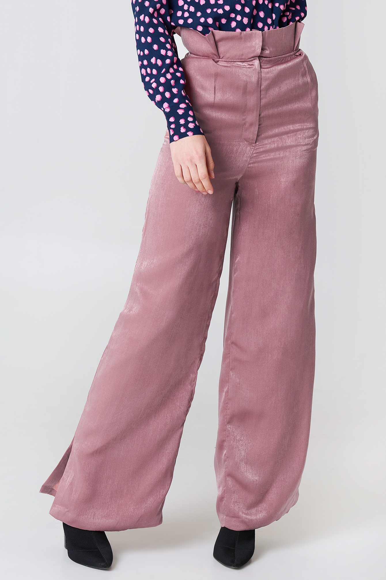 Shiny Trousers NA-KD.COM