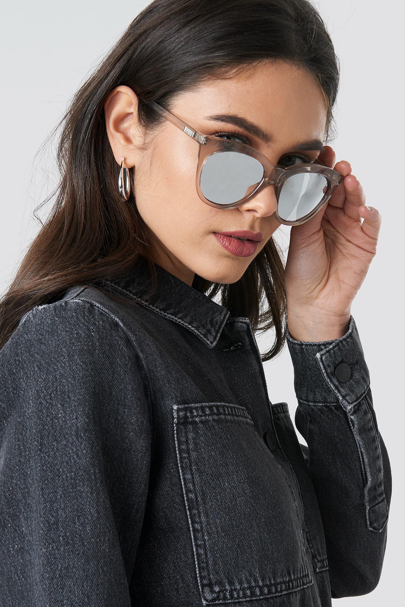 Okulary przeciwsłoneczne Halfmoon Magic NA-KD.COM