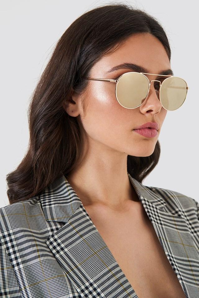 Okulary przeciwsłoneczne Revolution Gold