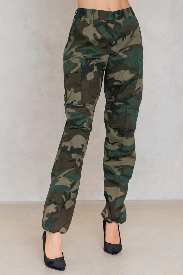 Camo Pants Green