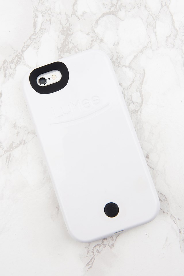LED Case iPhone 6S White Gloss