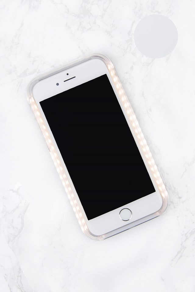 LED Case iPhone 7 White Gloss