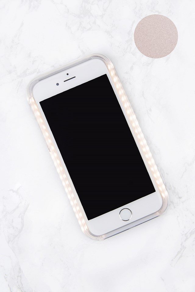 LED Case iPhone 7 Rose Matte