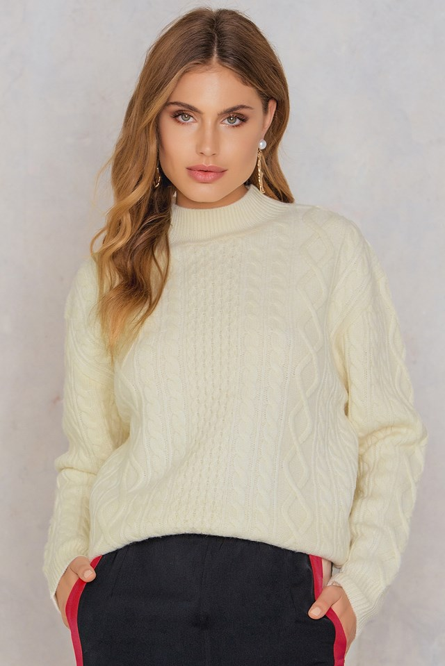 Freja Sweater Off White