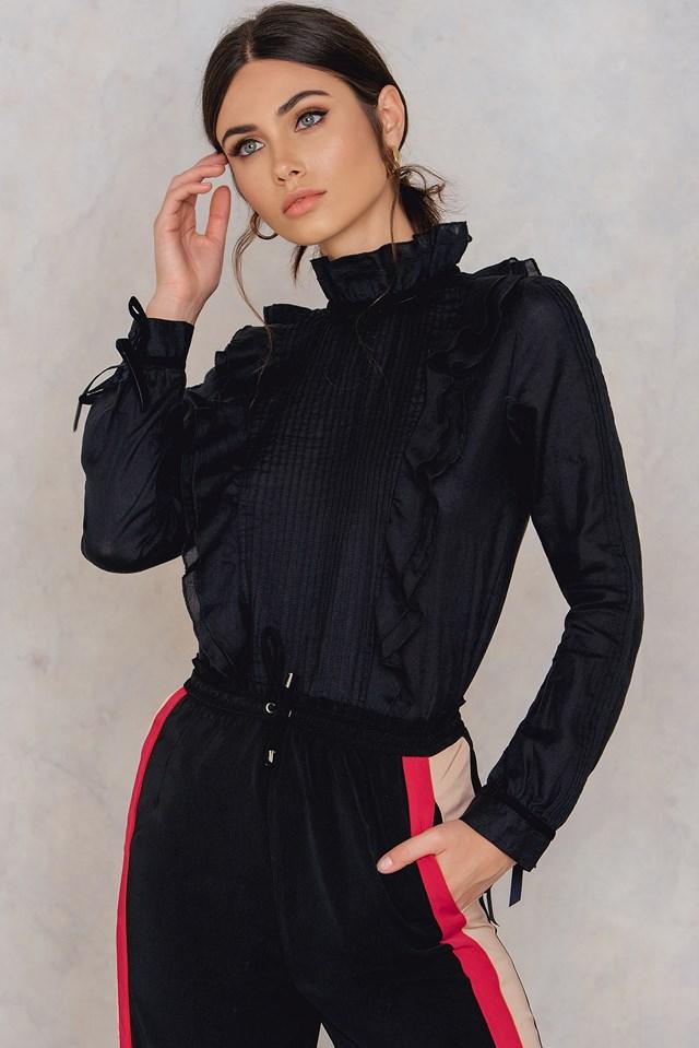Leva Blouse Black