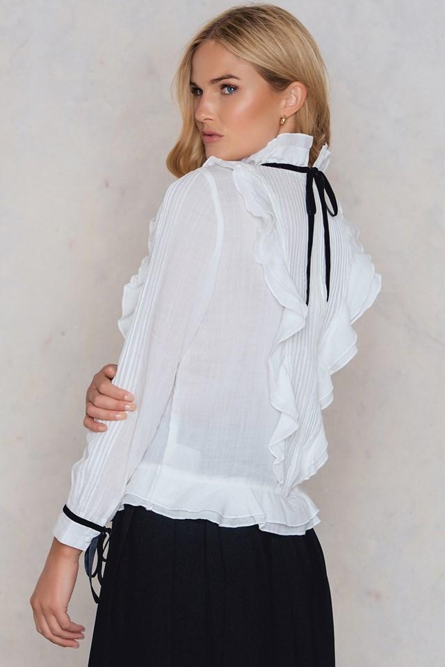 Leva Blouse Off White