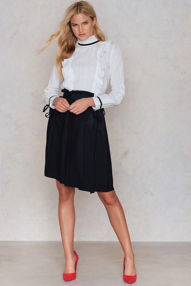 Sybil Skirt Black