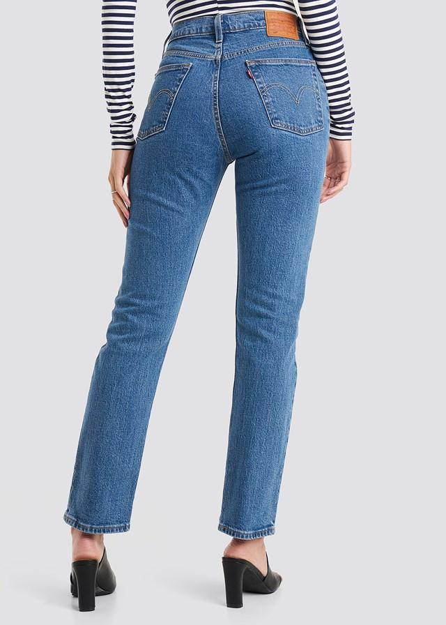 501 Crop Jeans Jive Stone Wash