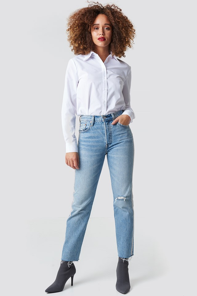 Jeansy 501 Crop Levi's