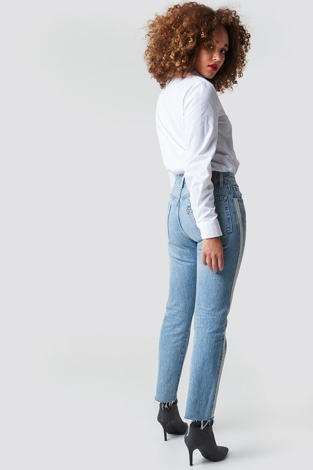 501 Crop Jeans Diamond In The Rough
