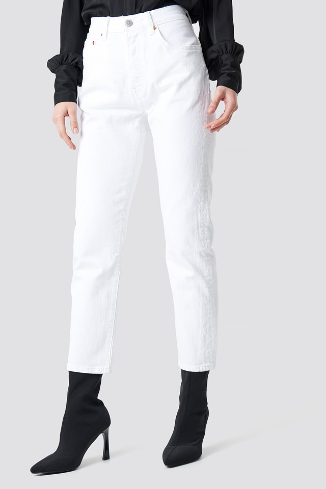 501 Crop Jeans Neutral
